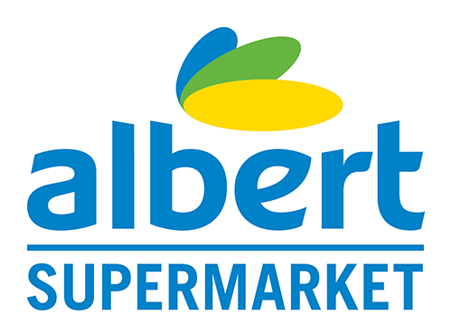Albert supermarket - logo